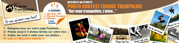 Photo Concours France Trampoline