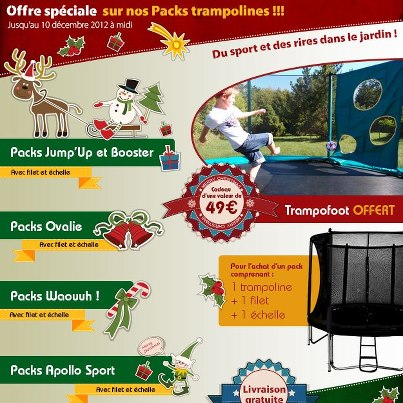 TrampoFoot pour trampoline