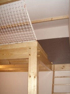 filet de protection pour mezzanine